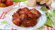 Фото рецепта Свиные рёбрышки запечённые в фольге