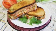 Фото рецепта Бутерброд гриль-капрезе