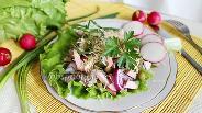 Фото рецепта Мужской салат с редисом