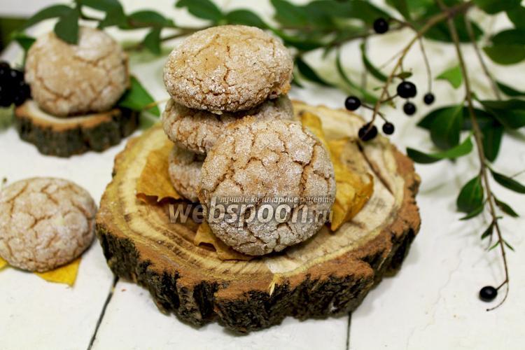 Фото Шоколадное печенье на майонезе