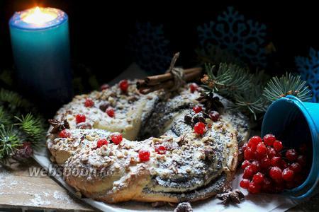 Маковый кекс на Рождество