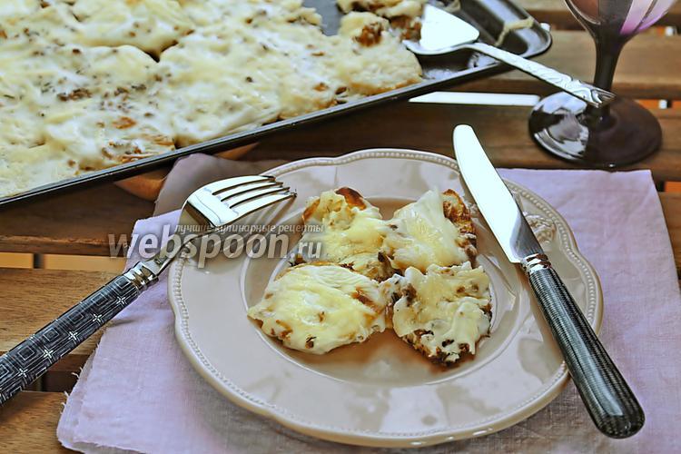 Фото Запечённый картофель под соусом бешамель