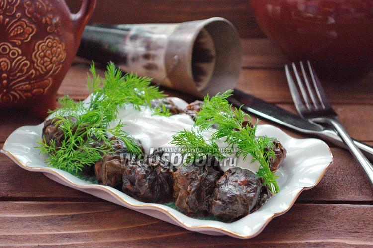 Фото Долма Сарма с грецкими орехами