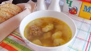 Фото рецепта Детский суп с клёцками