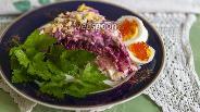 Фото рецепта Салат «Шуба с сельдью пряного посола»