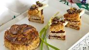 Фото рецепта Канапе с террином из баранины и каперсами