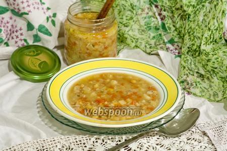 Суп гороховый детский (годовалому ребёнку)