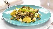 Фото рецепта Картофельный салат с морской капустой