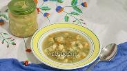 Фото рецепта Суп с фрикадельками детский