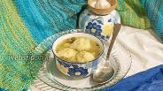 Фото рецепта Суп куриный с галушками в мультиварке