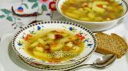 Фото рецепта Суп картофельный с фрикадельками