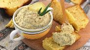 Фото рецепта Бутербродная намазка из сардин, яиц и плавленного сырка