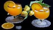 Фото рецепта Крюшон из шампанского с апельсинами