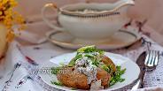 Фото рецепта Печёный картофель с селёдочным соусом