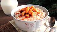 Фото рецепта Рисовый пудинг с яблоками