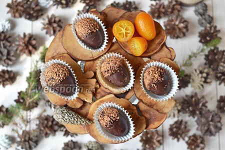 Фото рецепта Свежие кумкваты в шоколаде