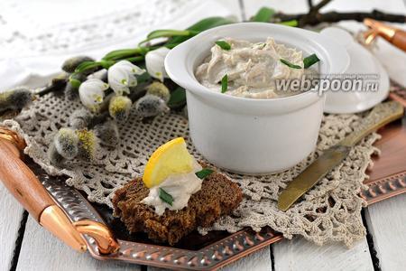 Фото рецепта Паштет из сардин в масле