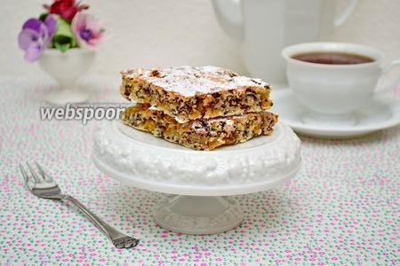 Кокосово-ананасовый пирог