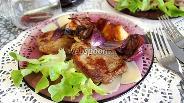 Фото рецепта Отбивные из говядины с грушей