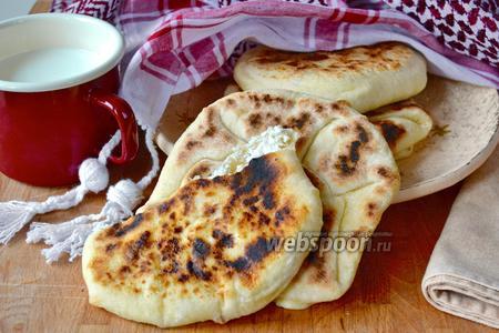 Лепёшки Наан с сыром (Cheese Naan)