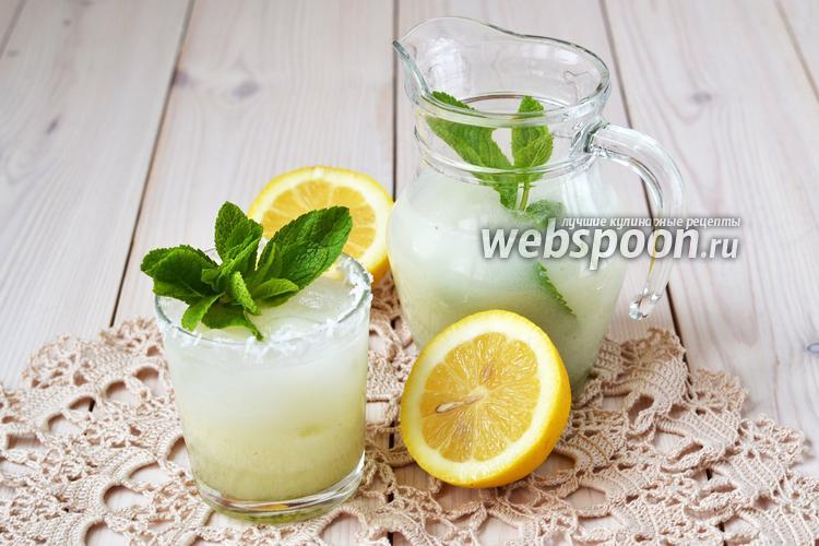 Фото Кокосовый лимонад