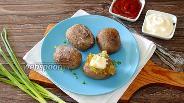 Фото рецепта Картофель запечённый на сковороде
