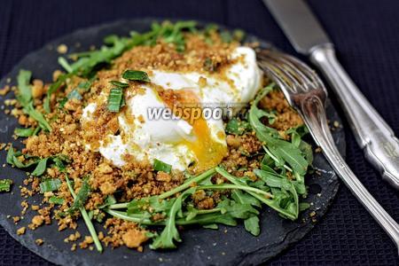 Яйцо-пашот в хрустящей корочке
