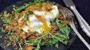 Фото рецепта Яйцо-пашот в хрустящей корочке