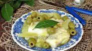 Фото рецепта Бакалао с картофелем и оливками