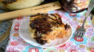 Фото рецепта Хлебный пудинг с шоколадом