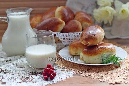 Пирожки с картофелем и грибами