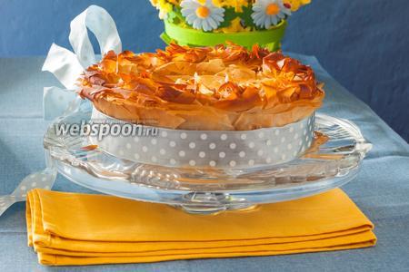 Пасхальный пирог со шпинатом «Торта паскуалина»