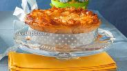 Фото рецепта Пасхальный пирог со шпинатом «Торта паскуалина»