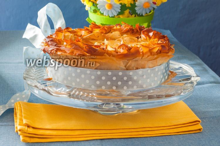 Фото Пасхальный пирог со шпинатом «Торта паскуалина»