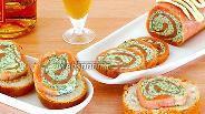 Фото рецепта Рулет из солёной сёмги