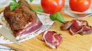 Фото рецепта Бастурма из свинины