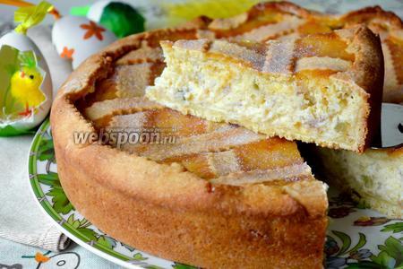 Итальянцы советуют приготовить пирог в четверг, чтобы в воскресенье насладиться всем богатством его вкуса! На второй-третий день он становится ещё вкуснее.