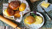 Фото рецепта Булочки для гамбургеров