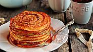 Фото рецепта Панкейки «Сinnamon roll»