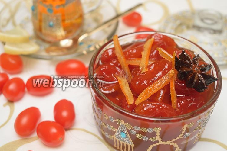 Фото Варенье из помидоров