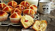 Фото рецепта Пасхальные крестовые булочки