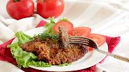 Фото рецепта Отбивные из говядины в соево-луковом маринаде