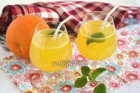 Апельсиновый фреш с берёзовым соком