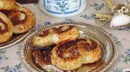 Фото рецепта Пирожное «Пальмира» с кокосом и шоколадом