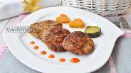 Фото рецепта Котлетки из бедра индейки для BBQ