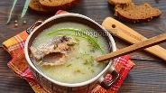 Фото рецепта Суп из консервы сардины