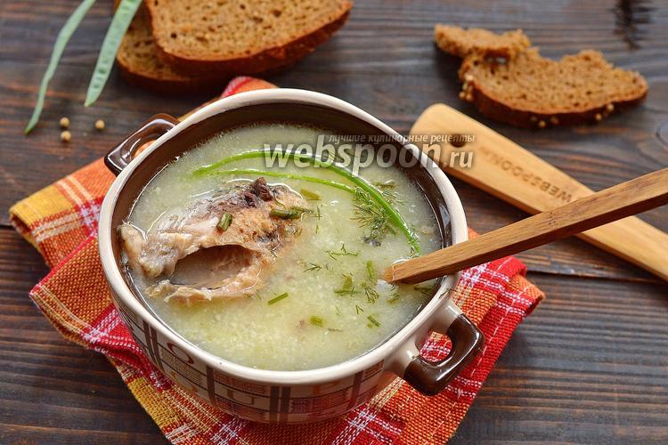 Фото Суп из консервы сардины