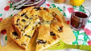 Фото рецепта Пирог заливной с капустой и грибами