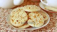 Фото рецепта Рассыпчатое печенье с фундуком