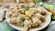 Фото рецепта Вареники с картофелем и курицей